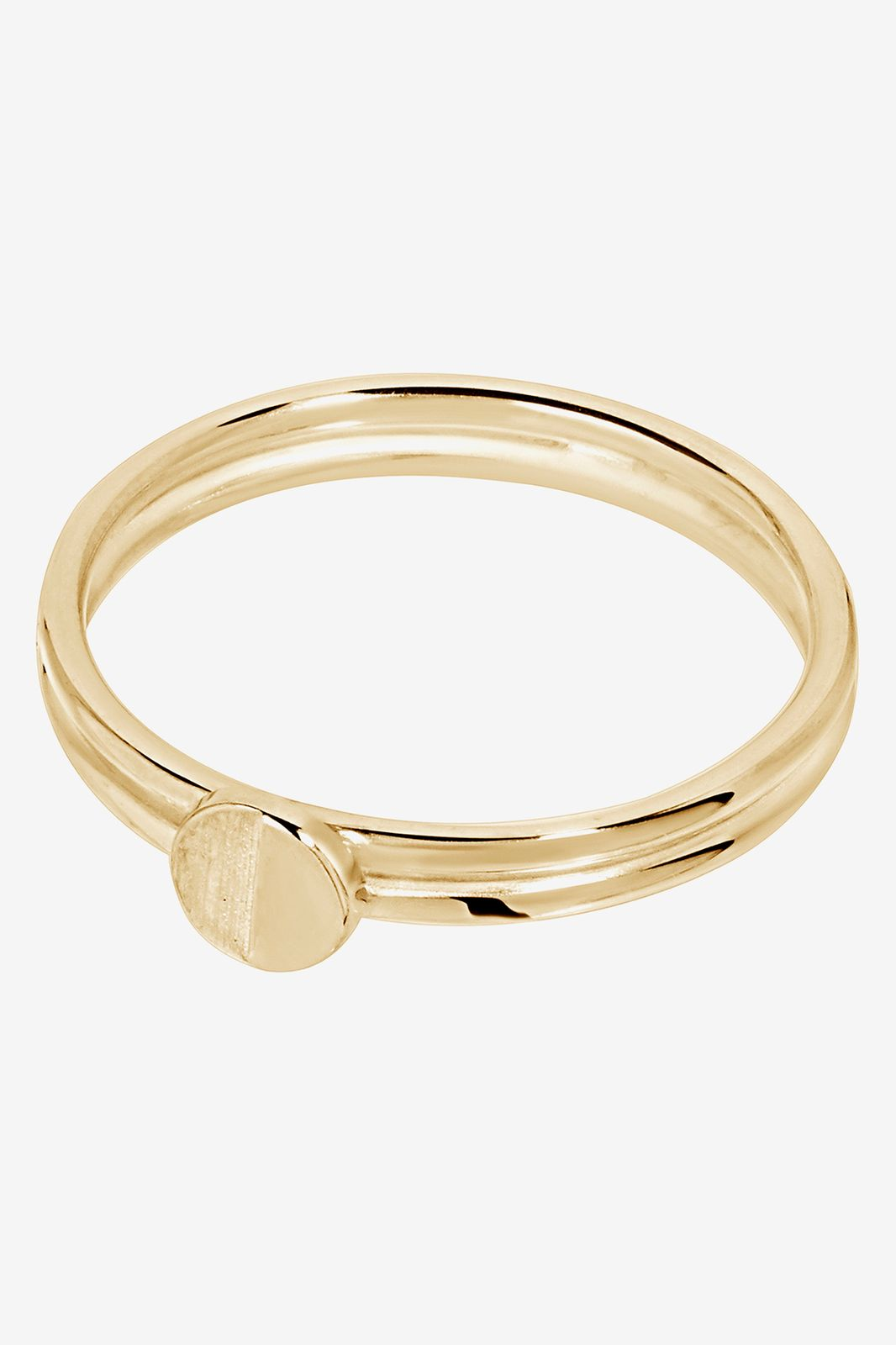 A Brend Goldplated ring Assia