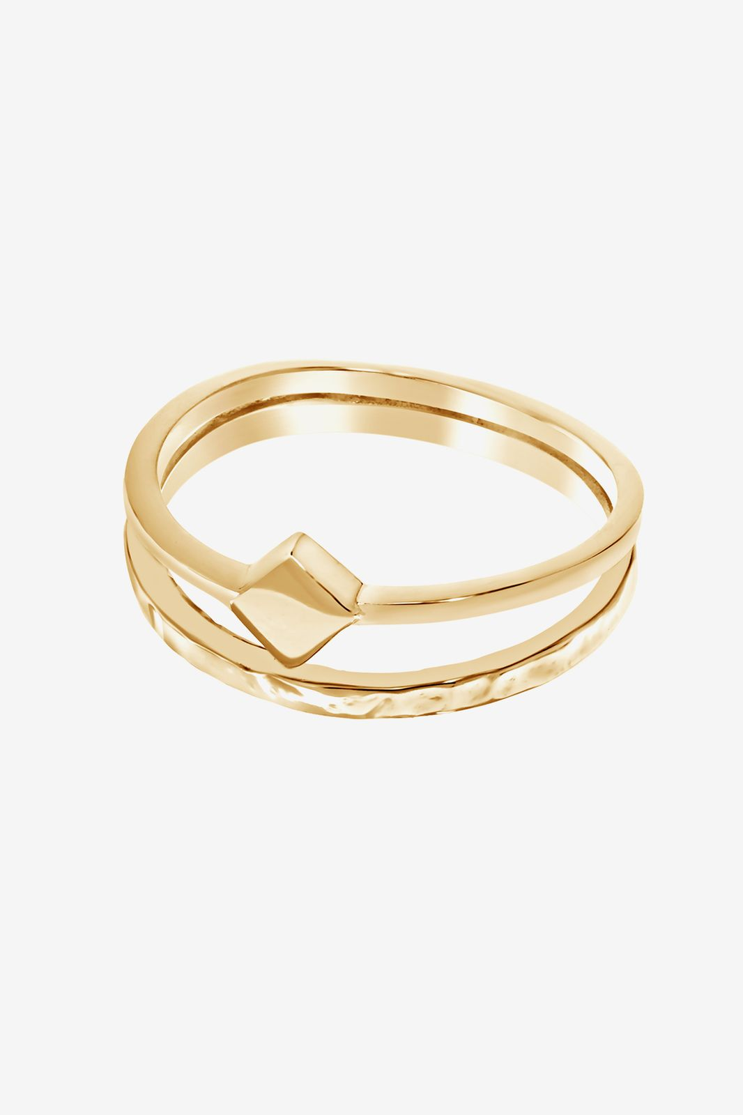 A Brend goldplated ring Edvy - Dames | Sissy-Boy