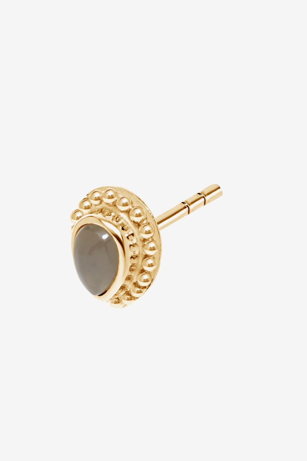 A Brend goldplated oorbel Mer - Dames | Sissy-Boy