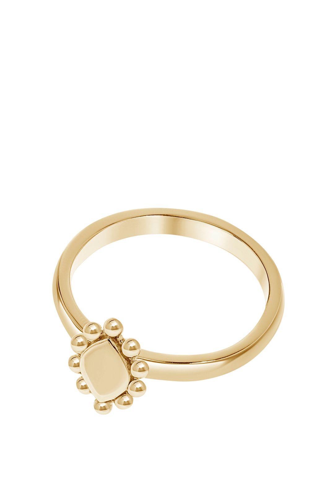 A Brend goldplated ring Soo - Dames   Sissy-Boy