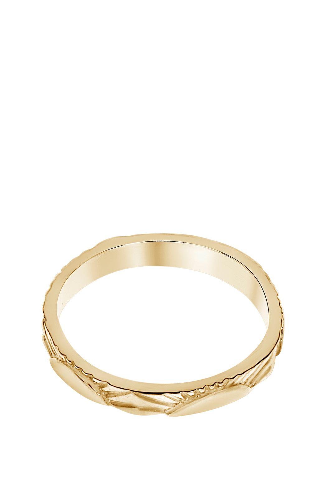 A Brend goldplated ring Roxx - Dames | Sissy-Boy