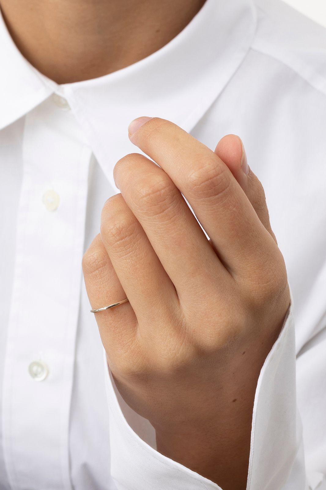 A Brend Zilveren ring Anna