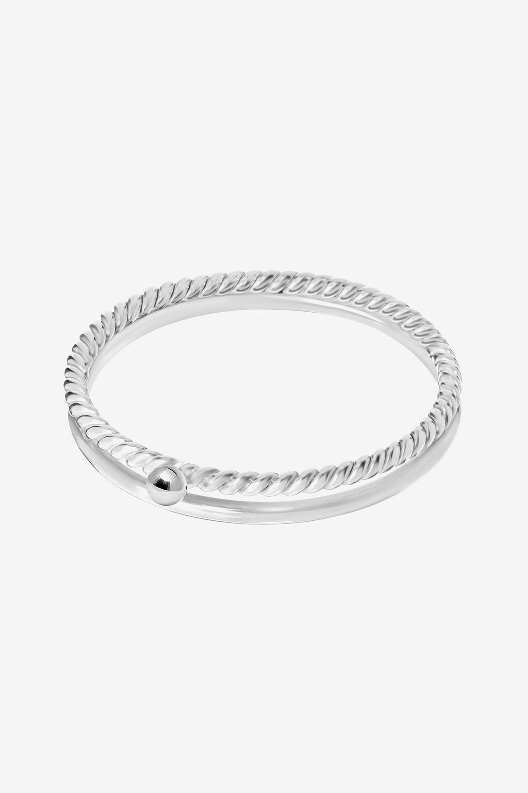 A Brend zilveren ring Charla - Dames   Sissy-Boy