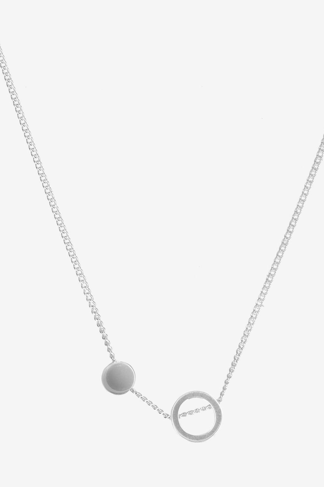 A Brend Zilveren ketting Janea - Dames | Sissy-Boy