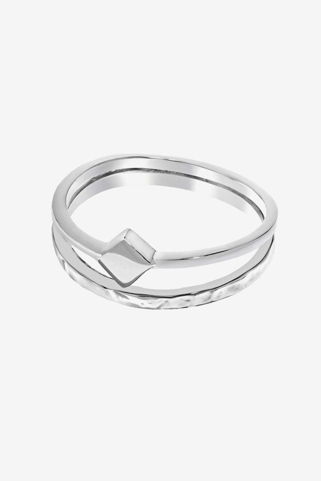A Brend zilveren ring Edvy