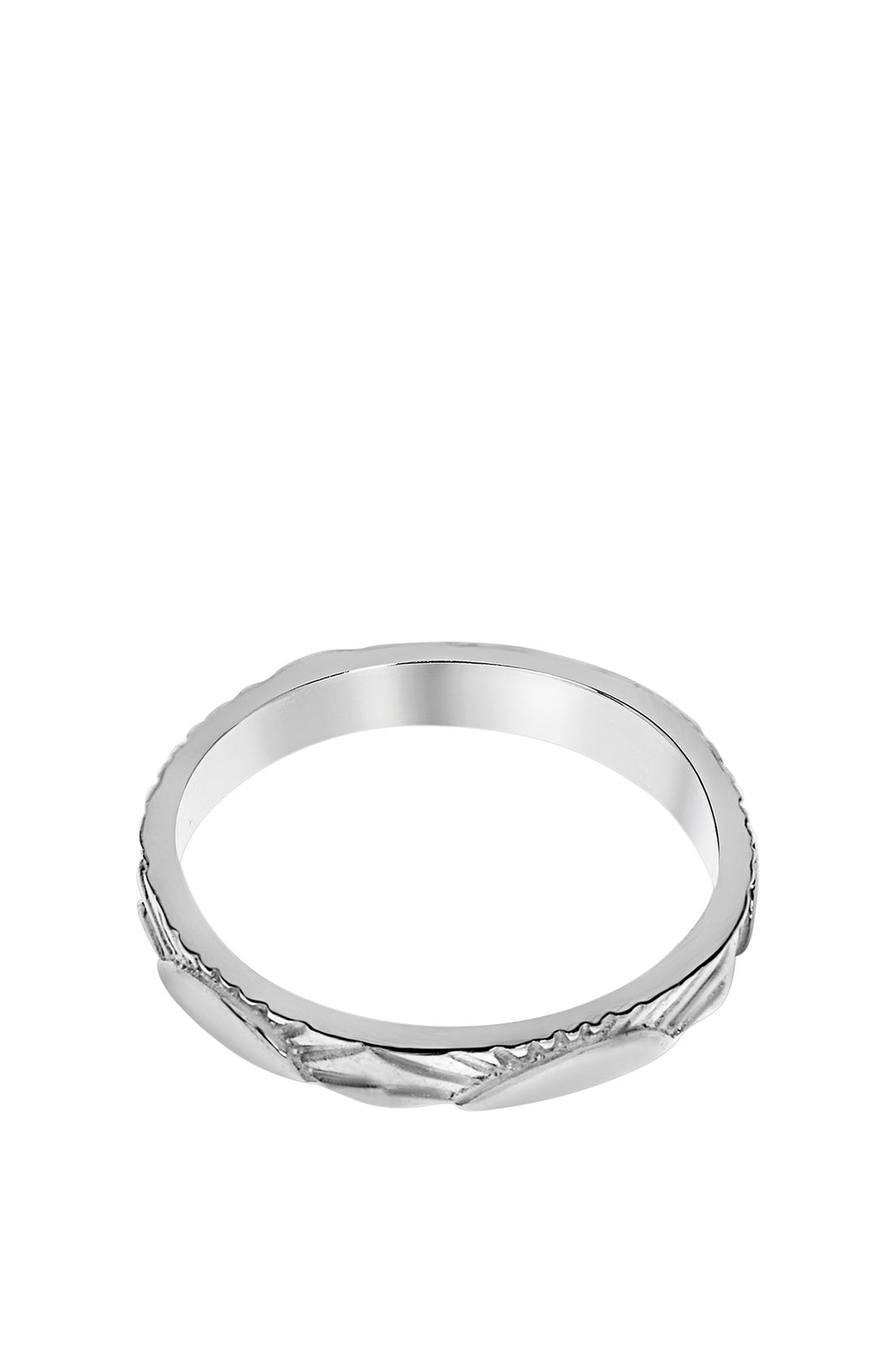 A Brend zilveren ring Roxx - Dames | Sissy-Boy