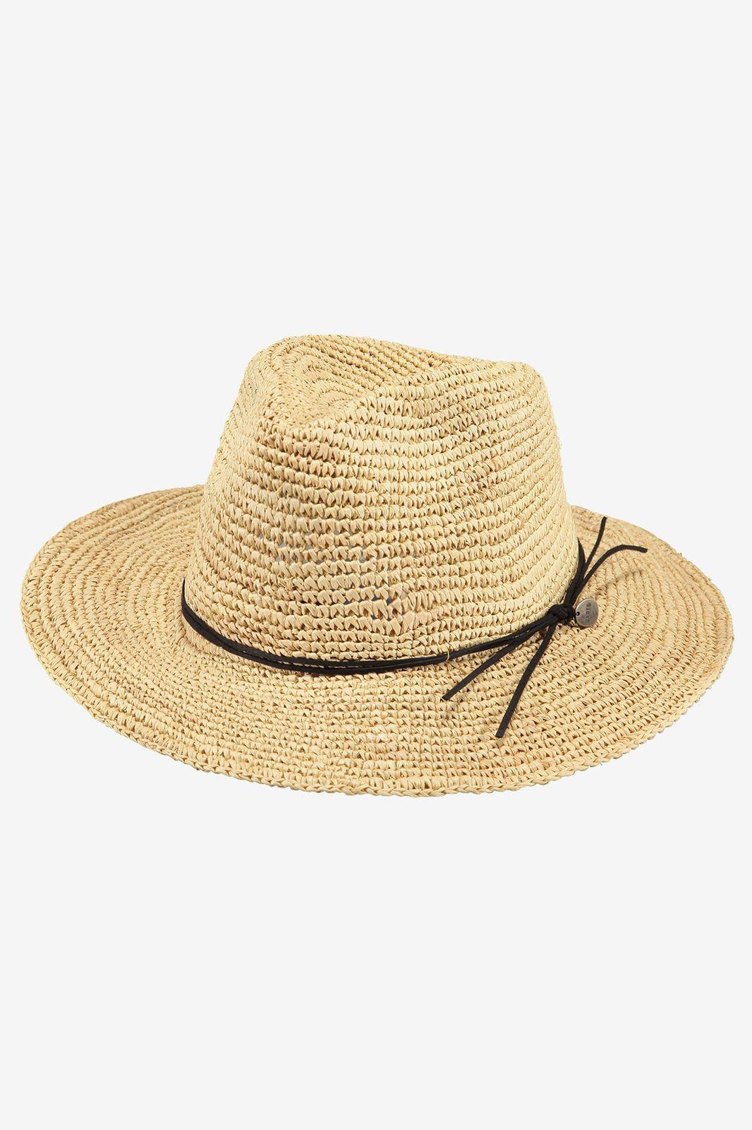 Barts rieten hoed