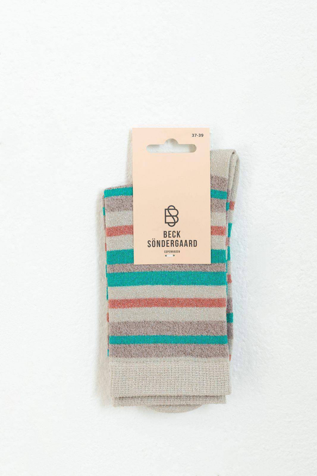 Becksondergaard Dalea Multi Stripe Socks - Dames | Sissy-Boy