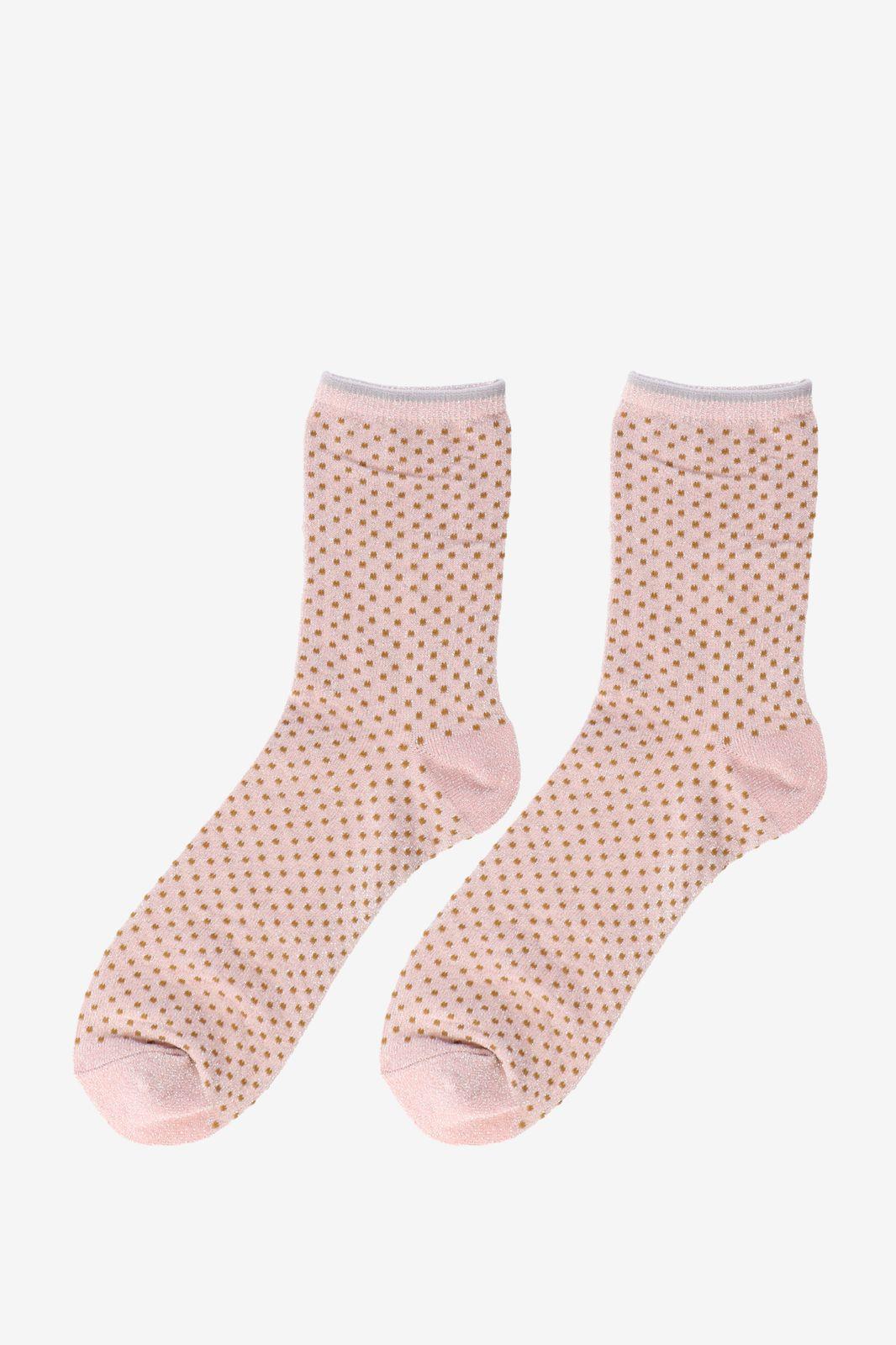 Roze sokken Dina Small Dots - Dames | Sissy-Boy