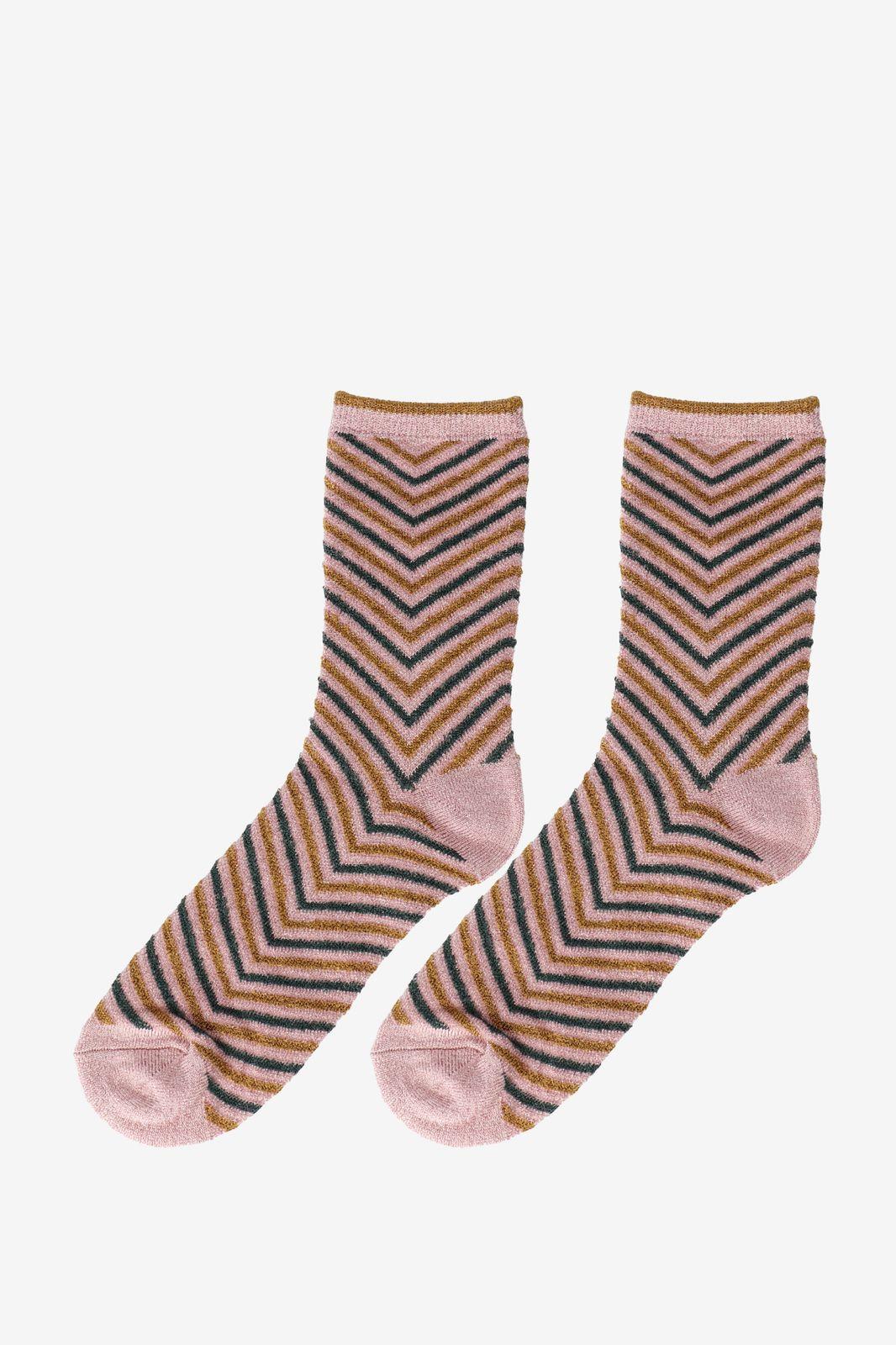 Becksöndergaard roze sokken Twisty Darya - Dames | Sissy-Boy