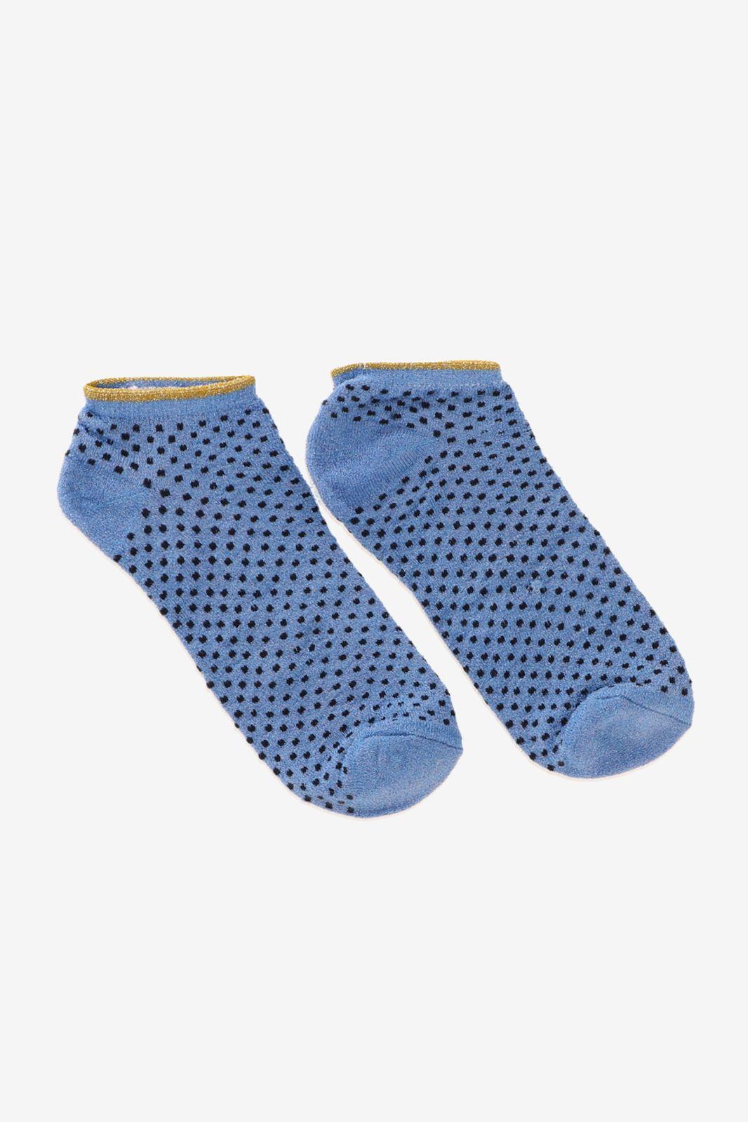 Becksöndergaard donkerblauwe sokken met dots - Dames | Sissy-Boy