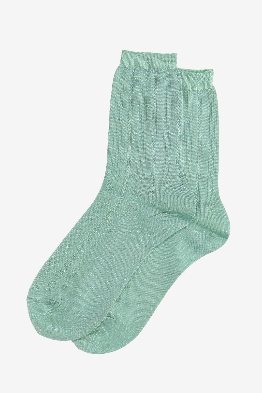 Becksöndergaard groene glitter sokken - Dames | Sissy-Boy