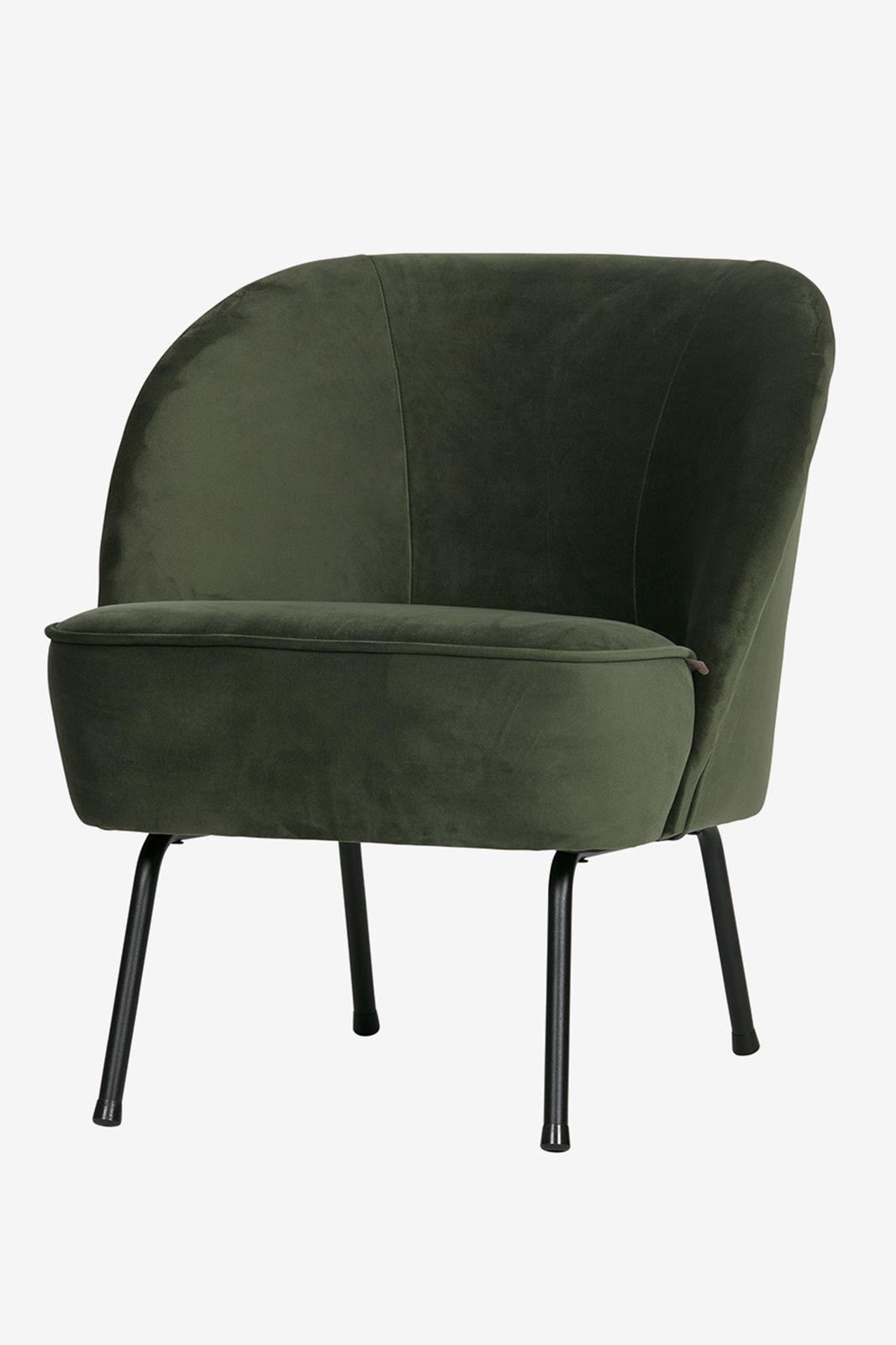 BePureHome Vogue fauteuil fluweel donkergroen - Homeland | Sissy-Boy