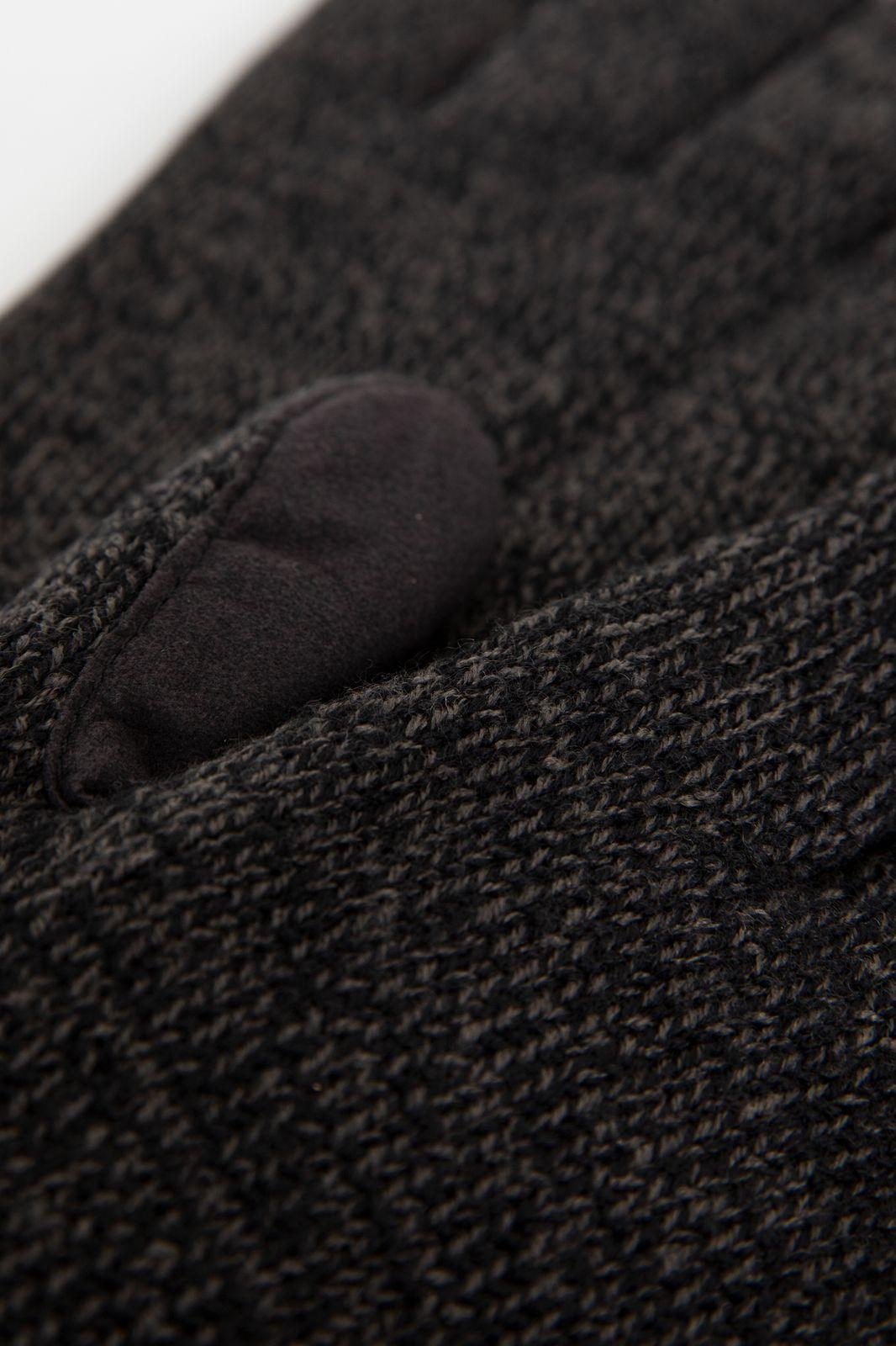 Bickley and Mitchell zwarte handschoenen twist