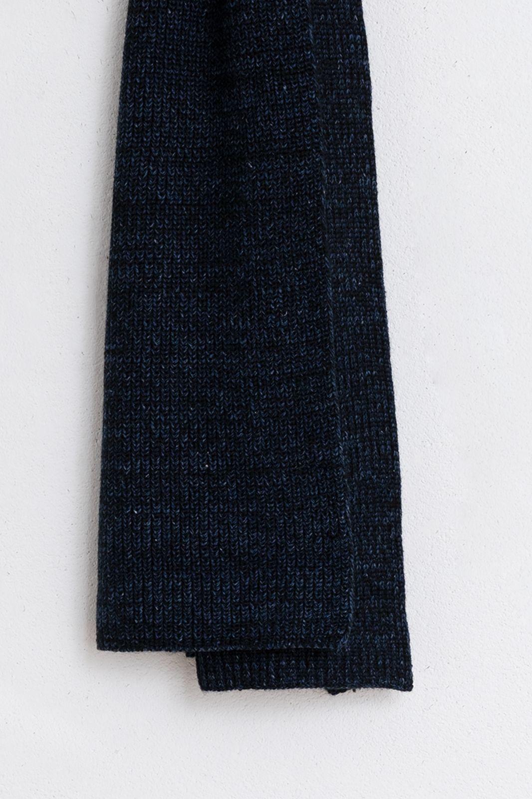 Bickley+Mitchell donkerblauwe sjaal - Heren | Sissy-Boy