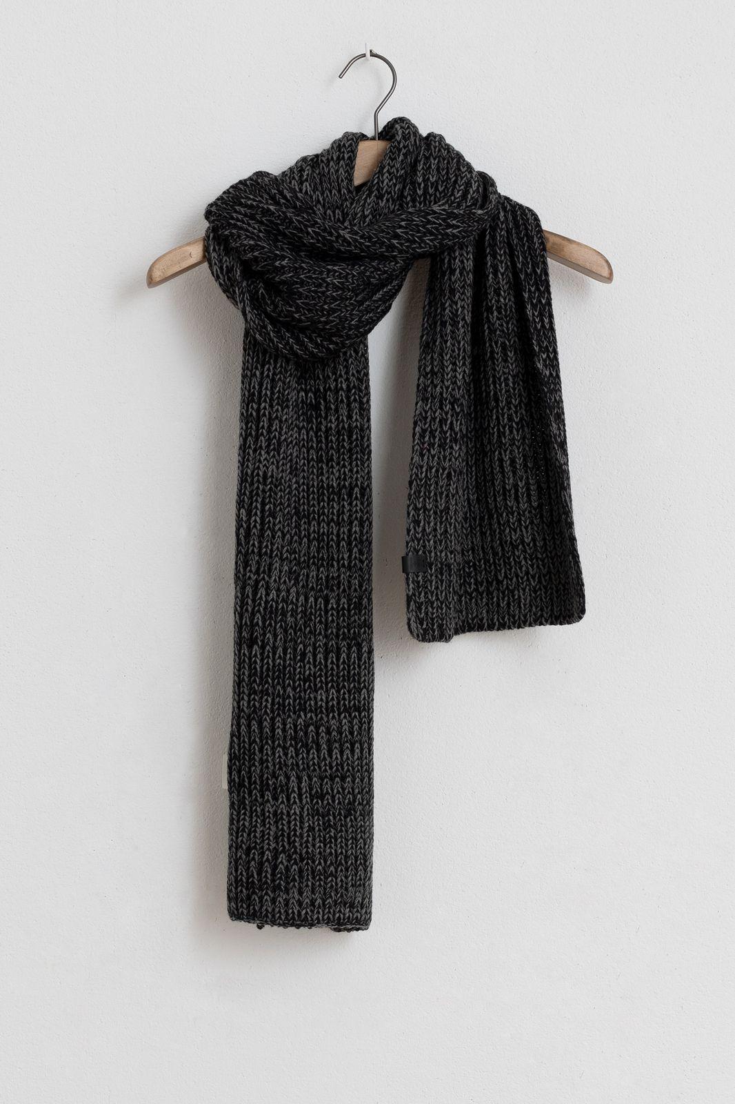 Bickley and Mitchell sjaal zwart - Heren | Sissy-Boy