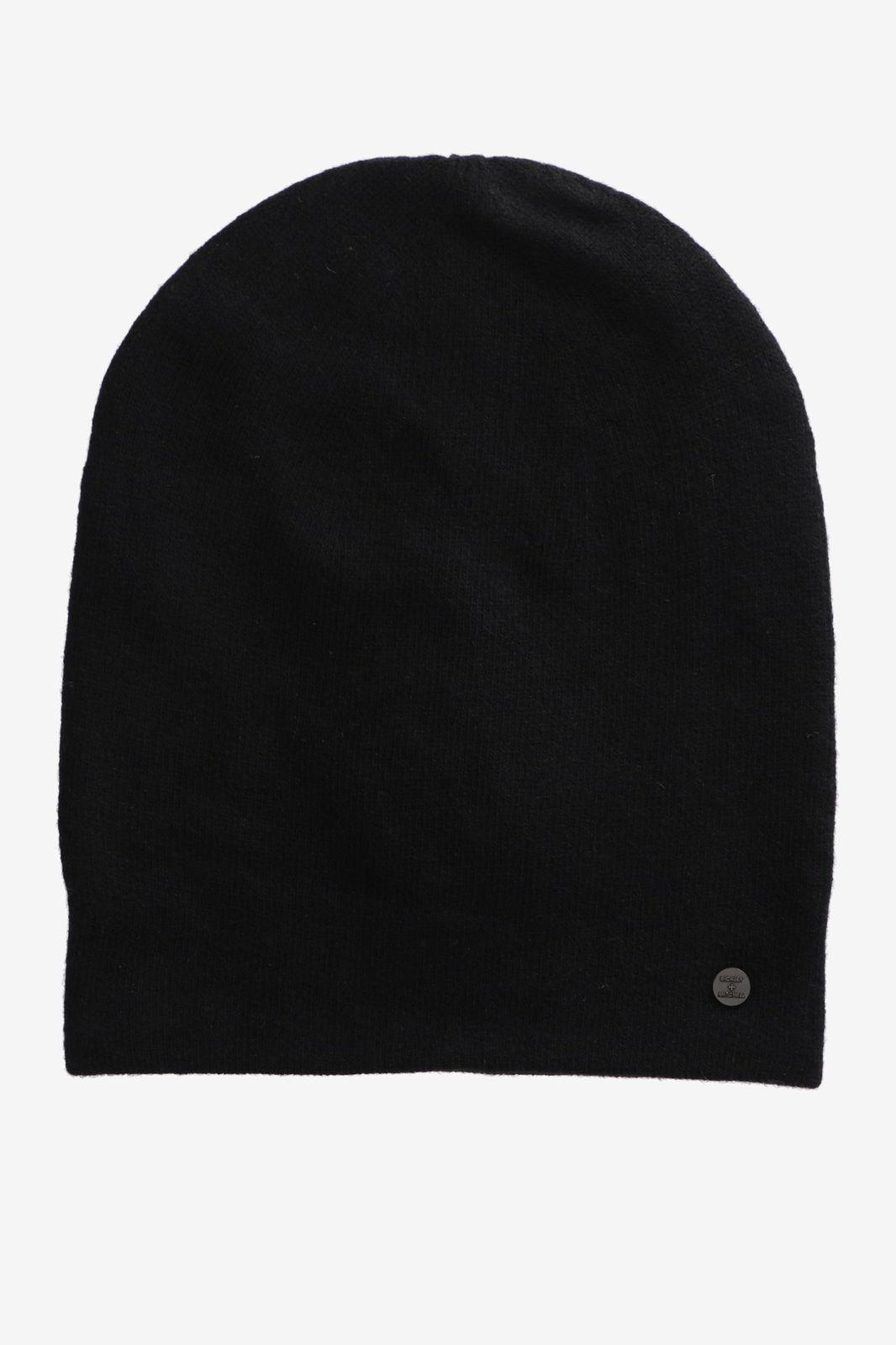 Bickley + Mitchell cashmere-merino beanie zwart - Heren | Sissy-Boy