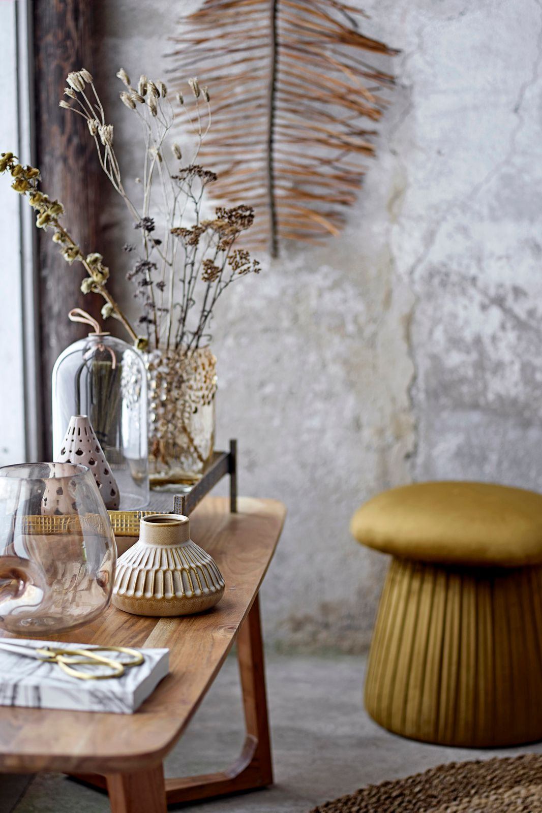 Bruine poef champignon - Homeland | Sissy-Boy