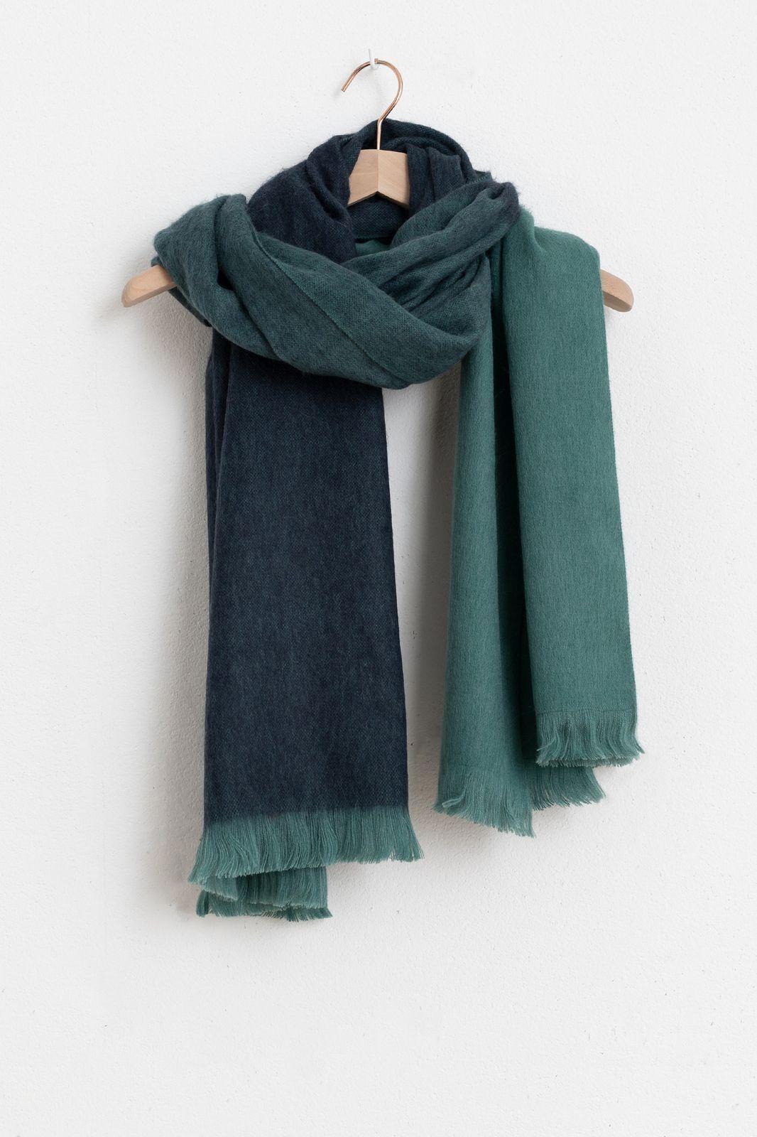 Bufandy sjaal brushed ombre groen - Dames   Sissy-Boy