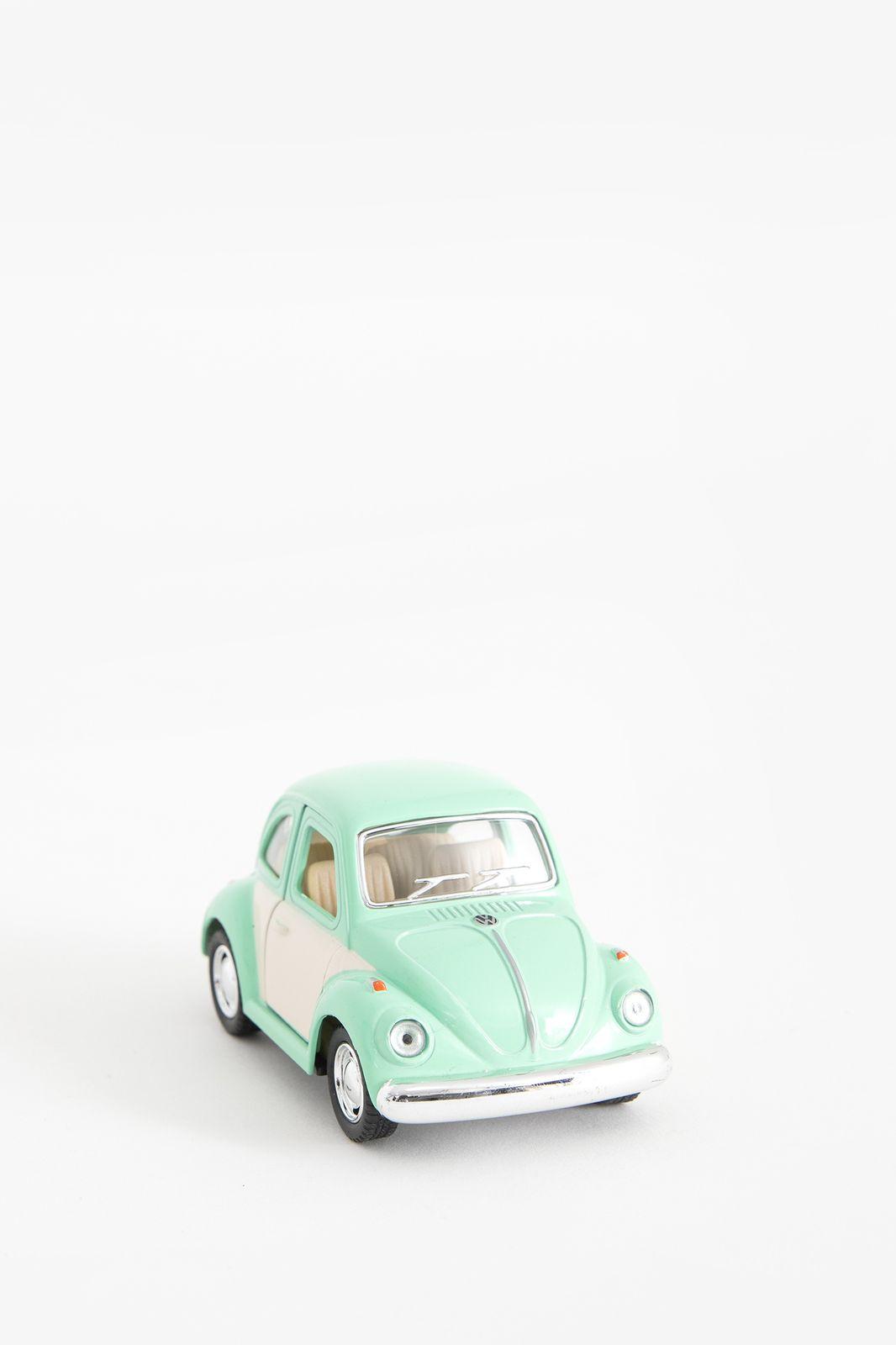 Metalen volkswagen beetle pastel lichtgroen - Homeland | Sissy-Boy