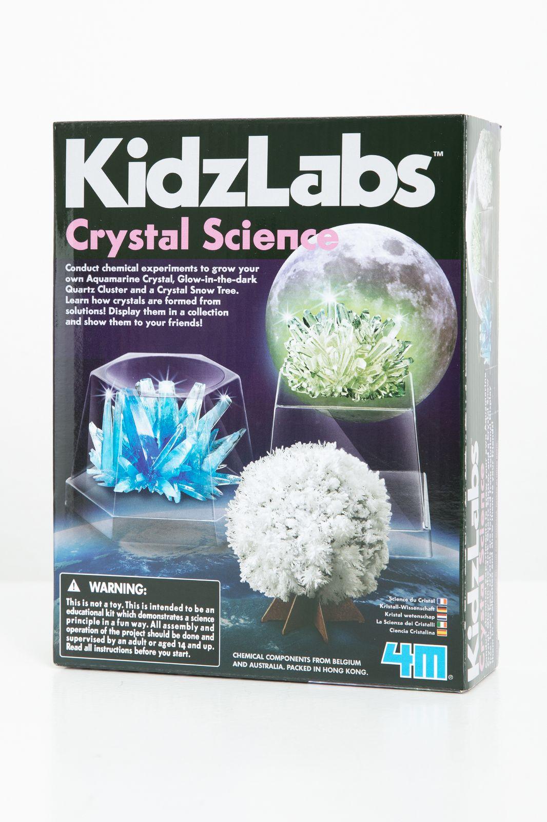 4M KidzLabs: CRYSTAL SCIENCE. - Homeland | Sissy-Boy