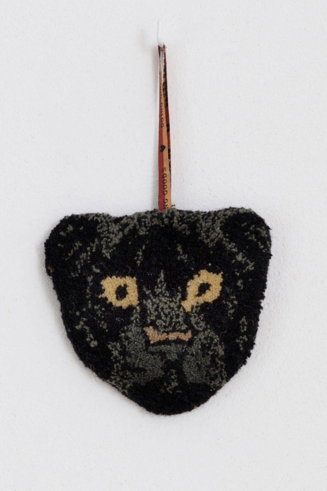 Fiery Black Panther muurhanger