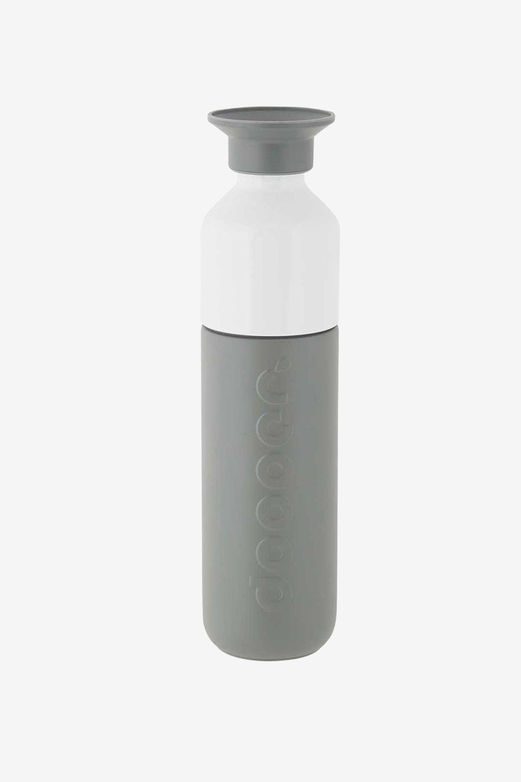Dopper fles grijs