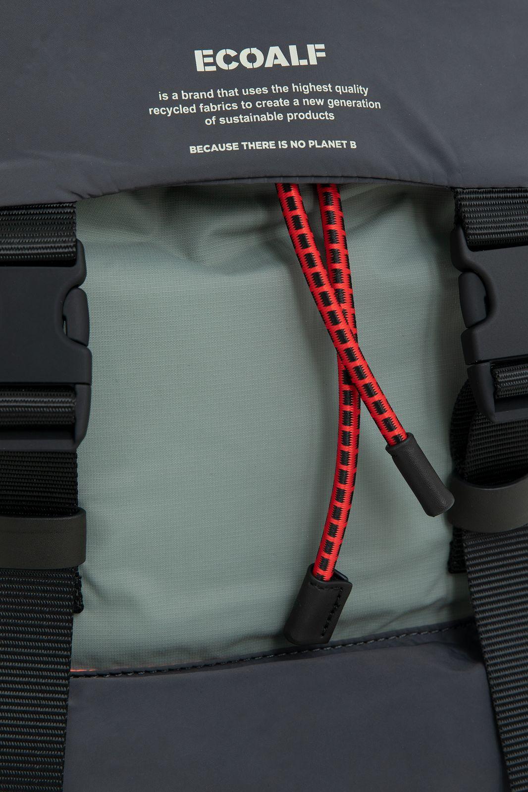Ecoalf Wild Sherpa backpack groen