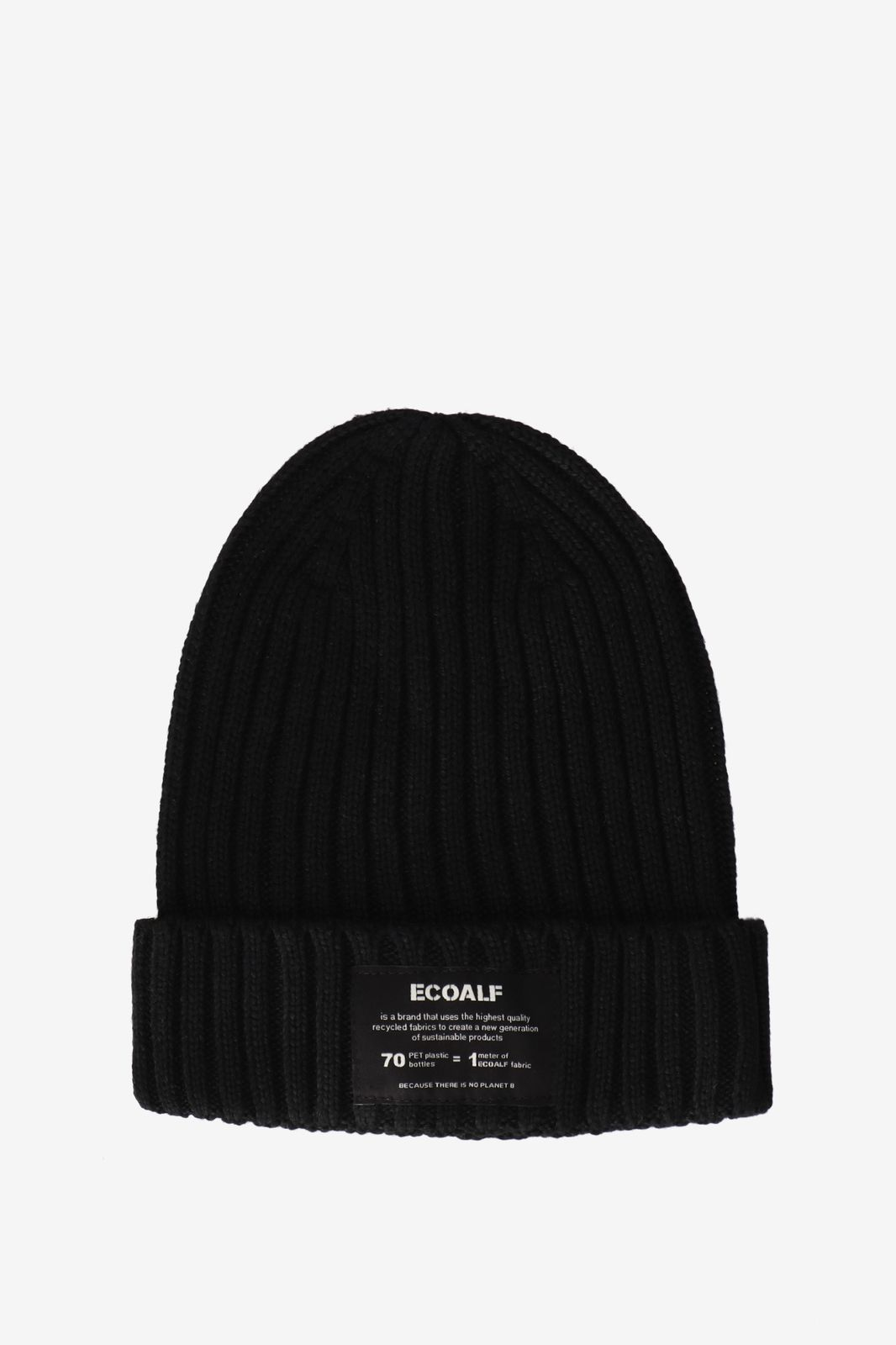 Ecoalf Thick Hat zwat - Heren | Sissy-Boy