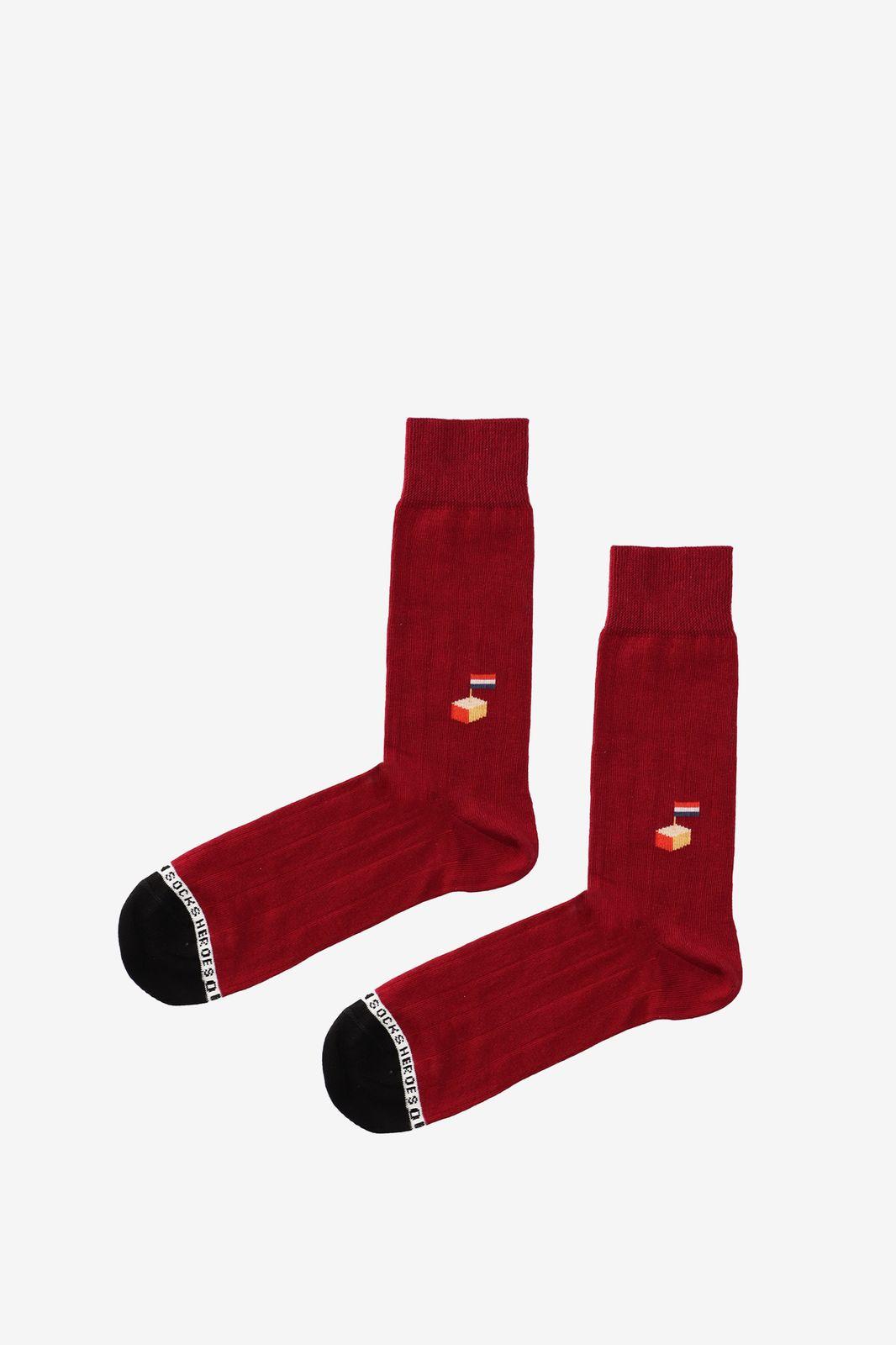 Rode sokken kaas - Heren   Sissy-Boy