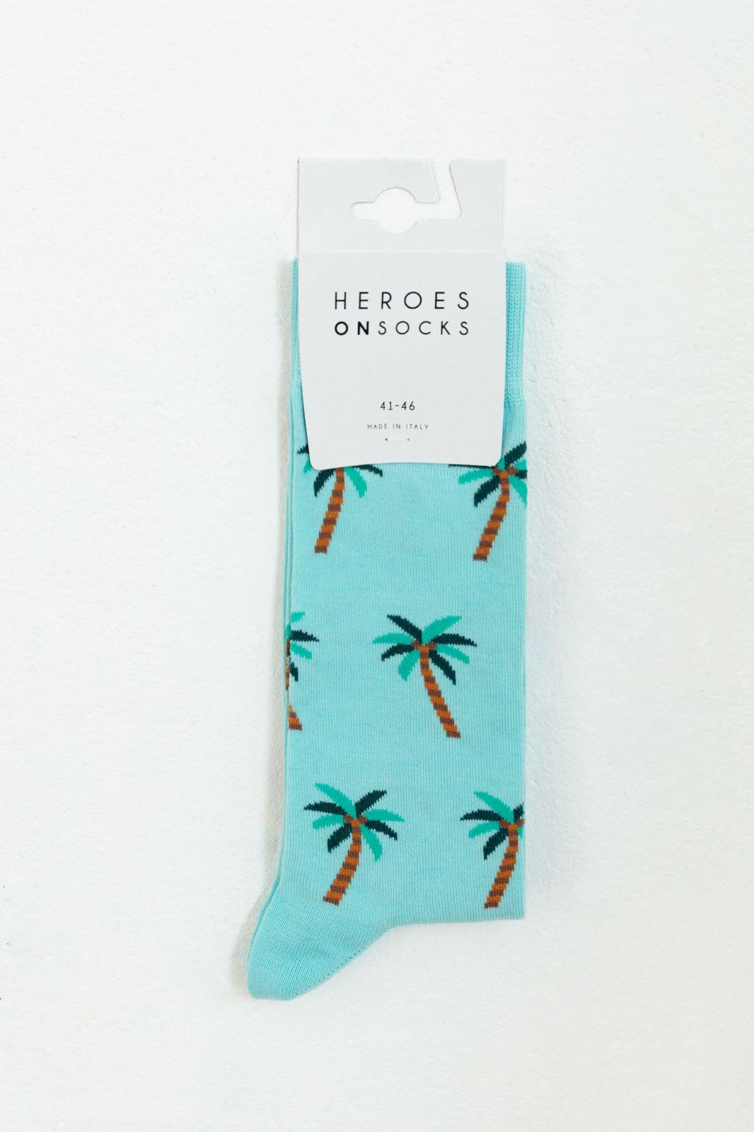 Heroes on Socks Coconuts Blue - Heren | Sissy-Boy