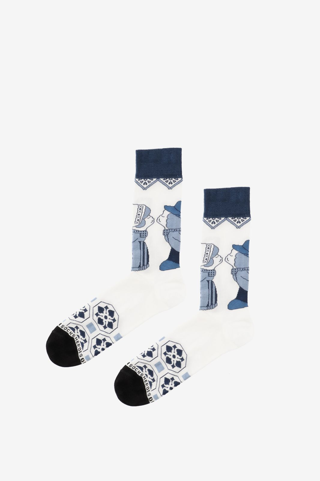 Sokken Delfs Blauw kus - Heren | Sissy-Boy