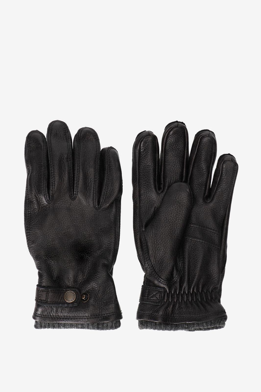 Hestra zwarte handschoenen leer - Heren | Sissy-Boy