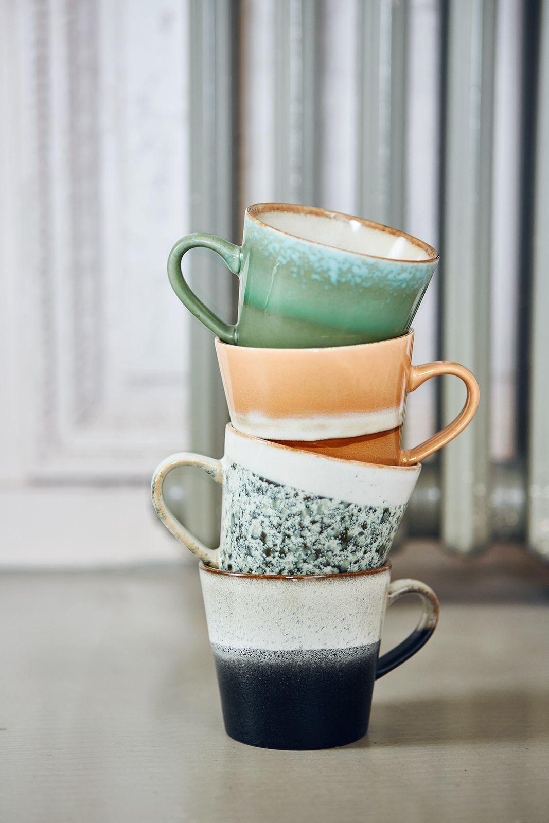HKliving keramieken cappuccino mokken - Homeland | Sissy-Boy