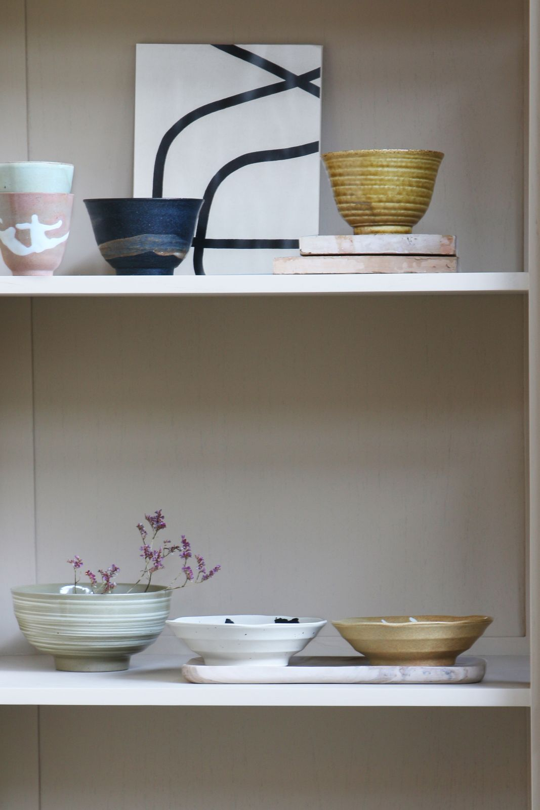 HKliving Japanse shallow bowls - Homeland | Sissy-Boy
