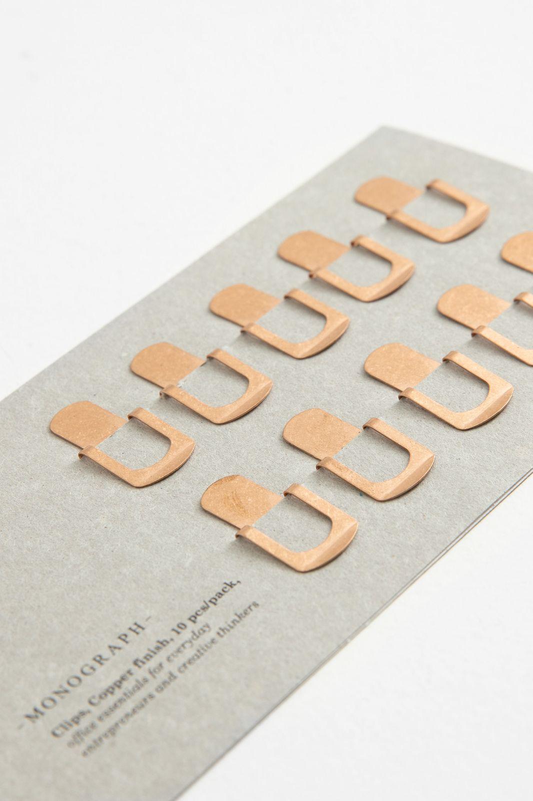 Monograph koperkleurige paper clips - Homeland   Sissy-Boy