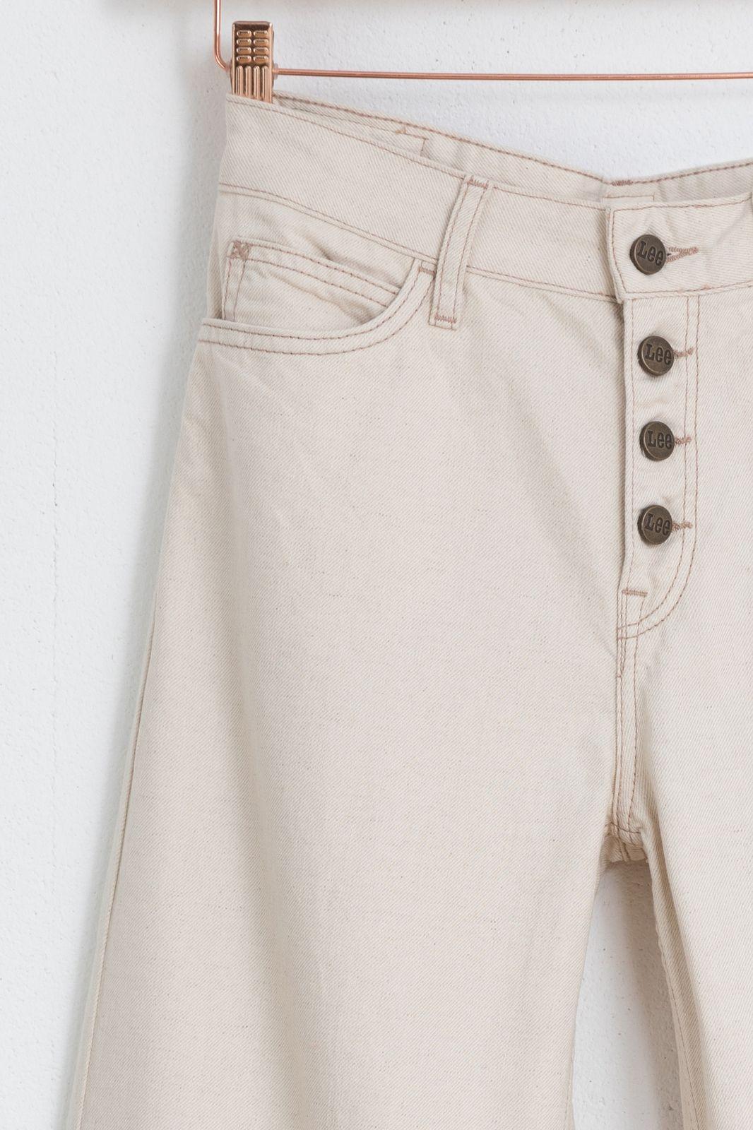 LEE beige jeans met wijde pijpen - Dames | Sissy-Boy