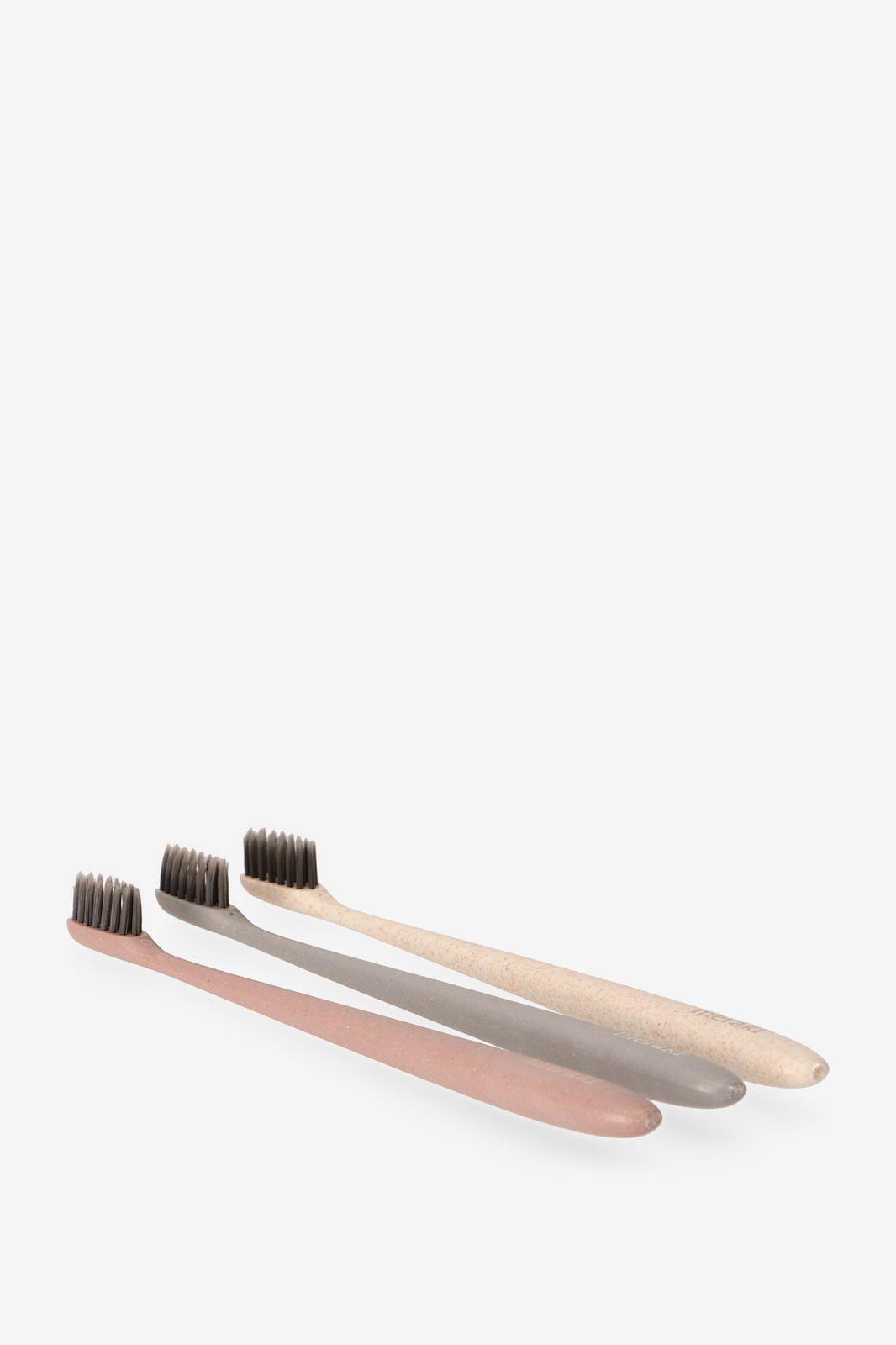 Set van 3 tandenborstels