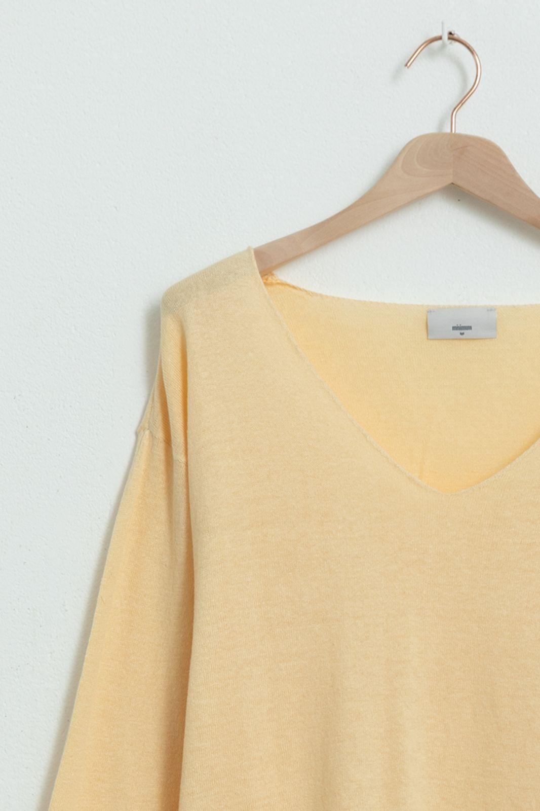 MINIMUM Pull Lolly 6763 - jaune clair