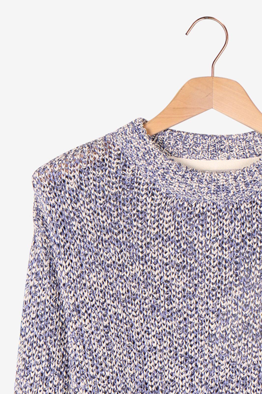 Minimum jumper cardigan blauw