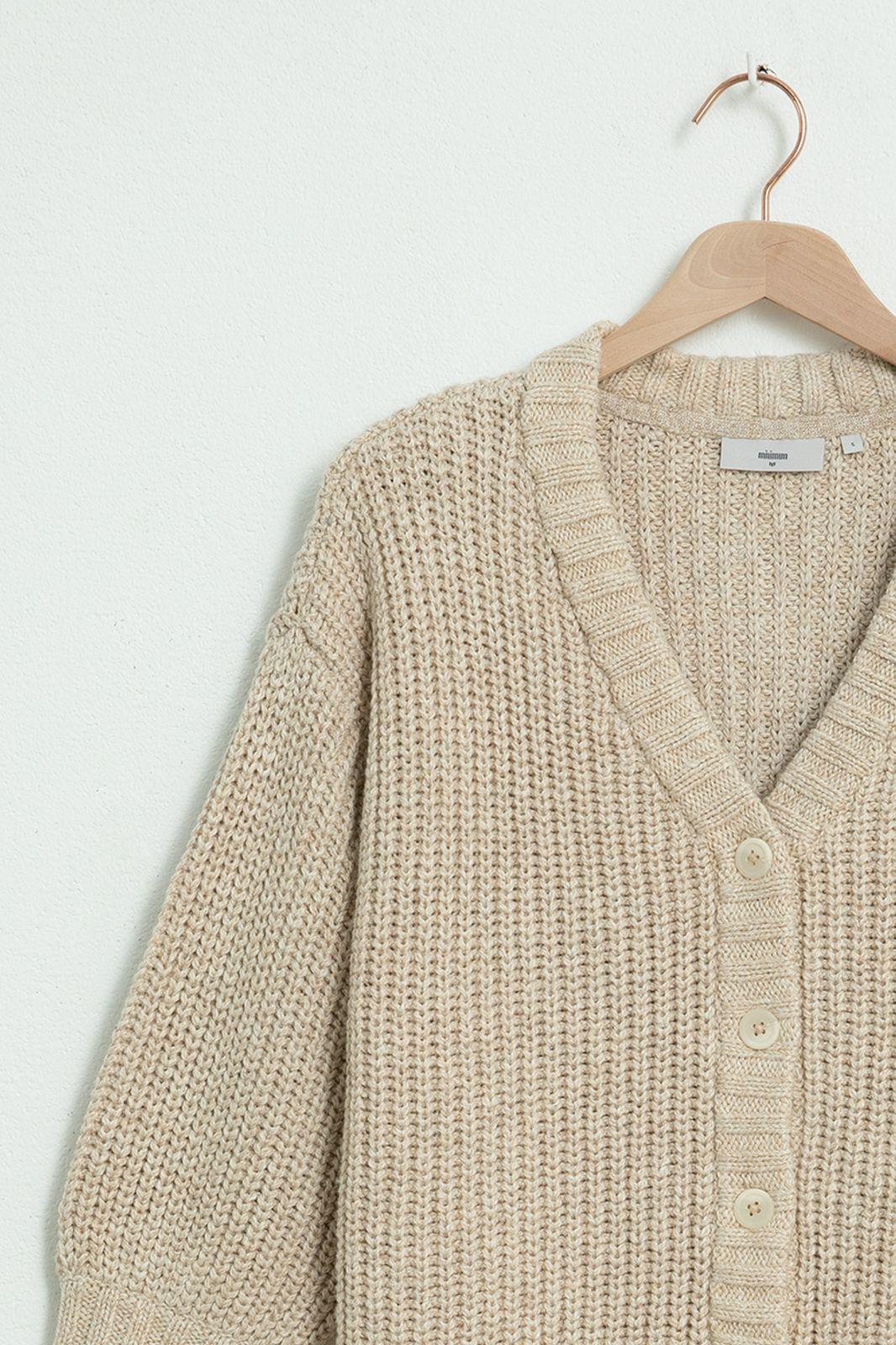 MINIMUM beige vest Ciliana 7452 - Dames | Sissy-Boy
