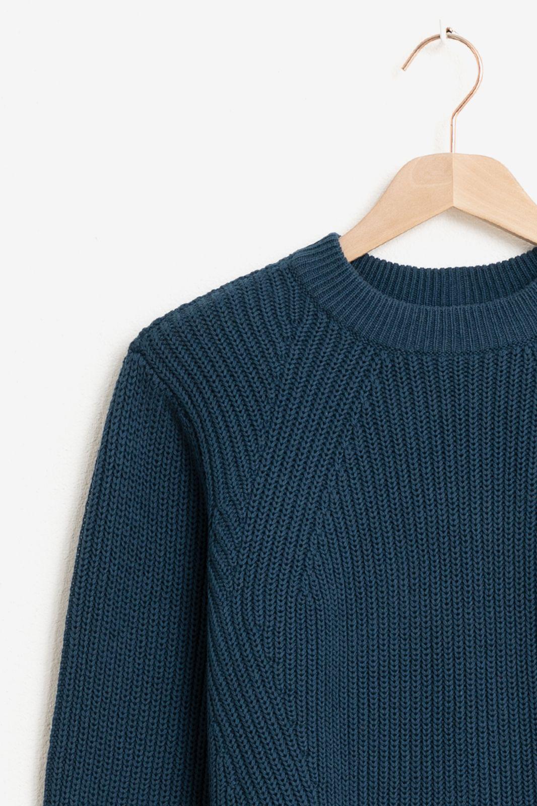 Minimum donkerblauwe trui Caire 0025 - Dames | Sissy-Boy