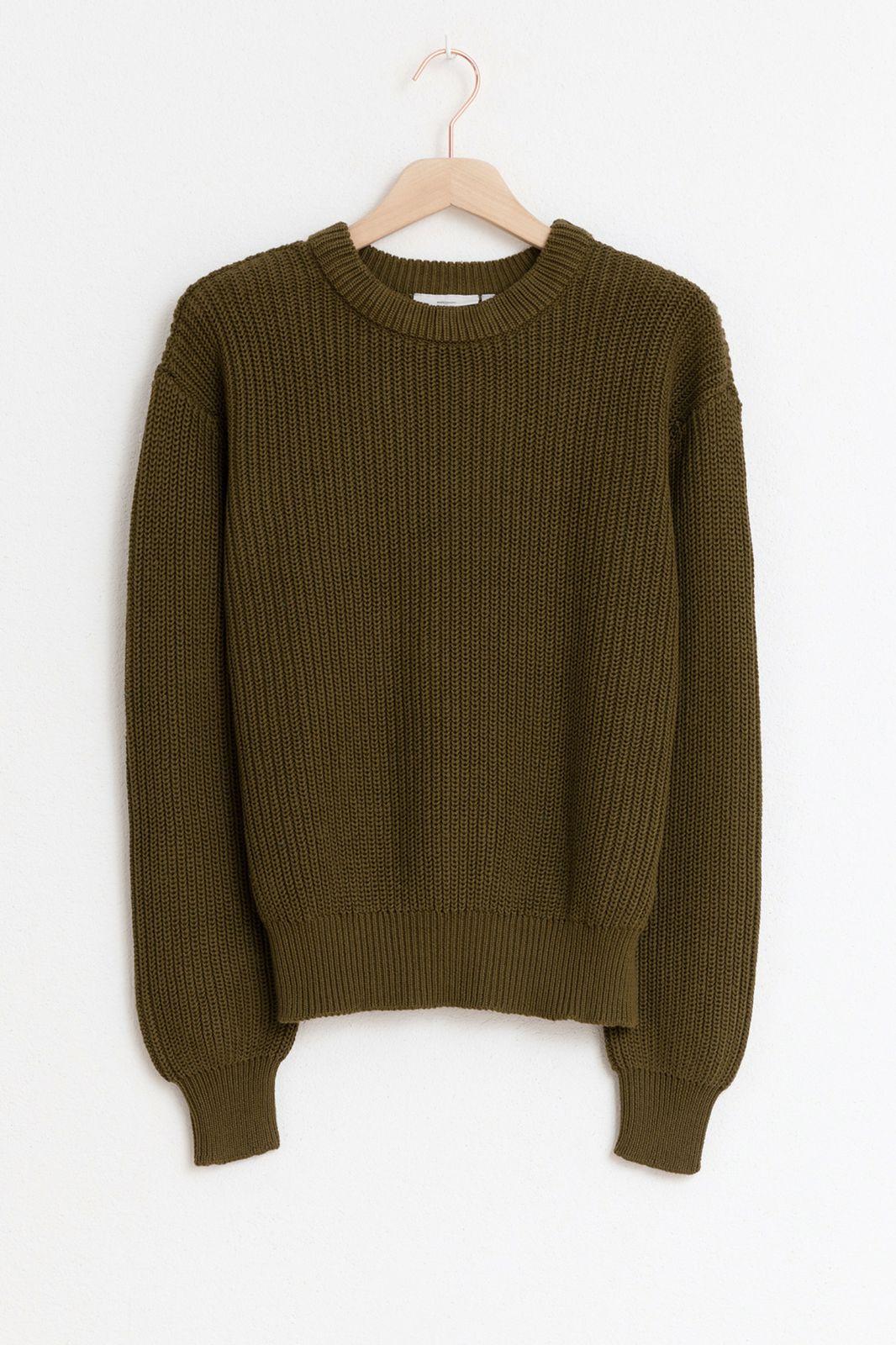 Minimum groene trui mikala - Dames | Sissy-Boy
