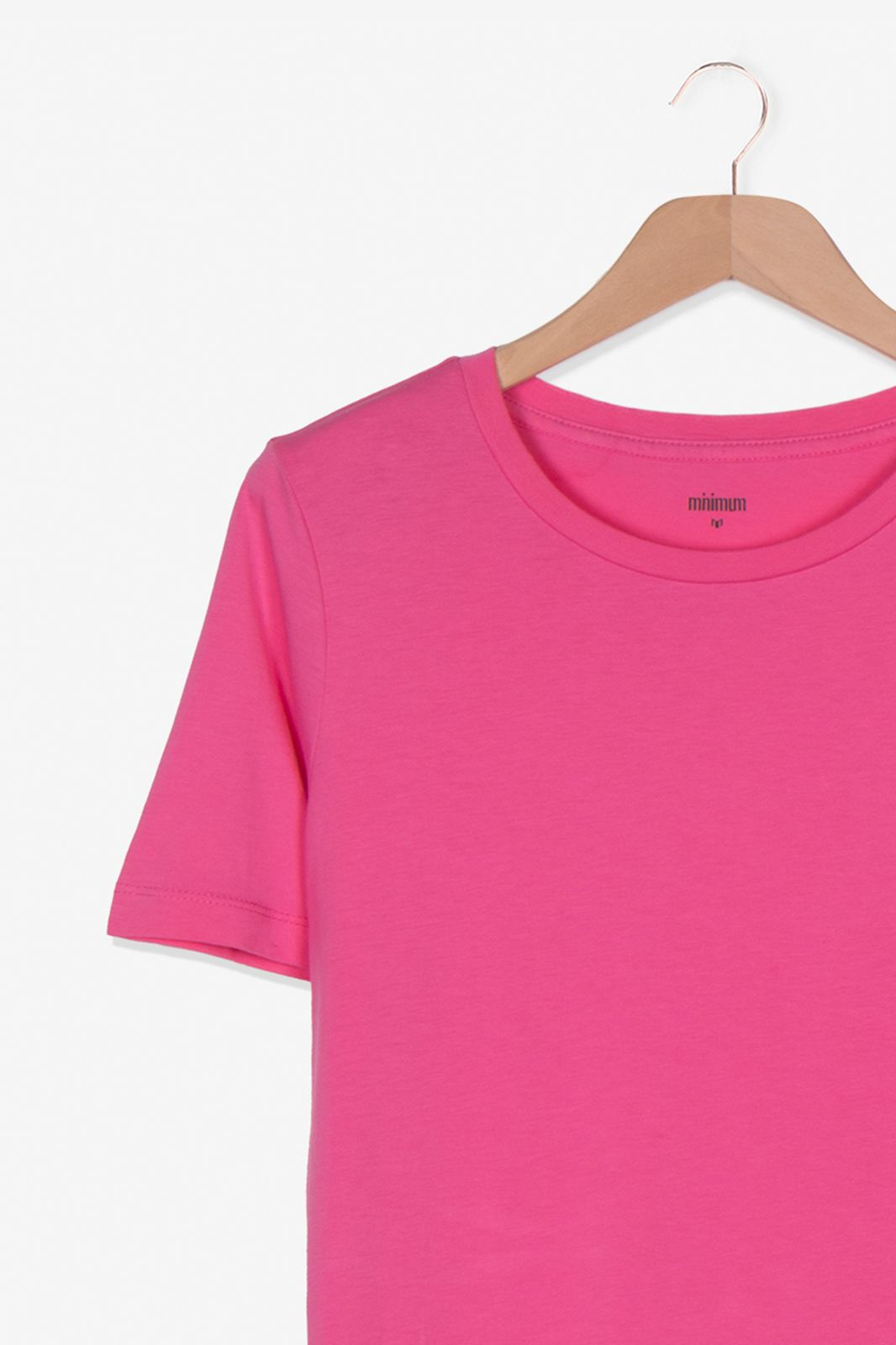 Minimum roze t-shirt ronde hals - Dames   Sissy-Boy
