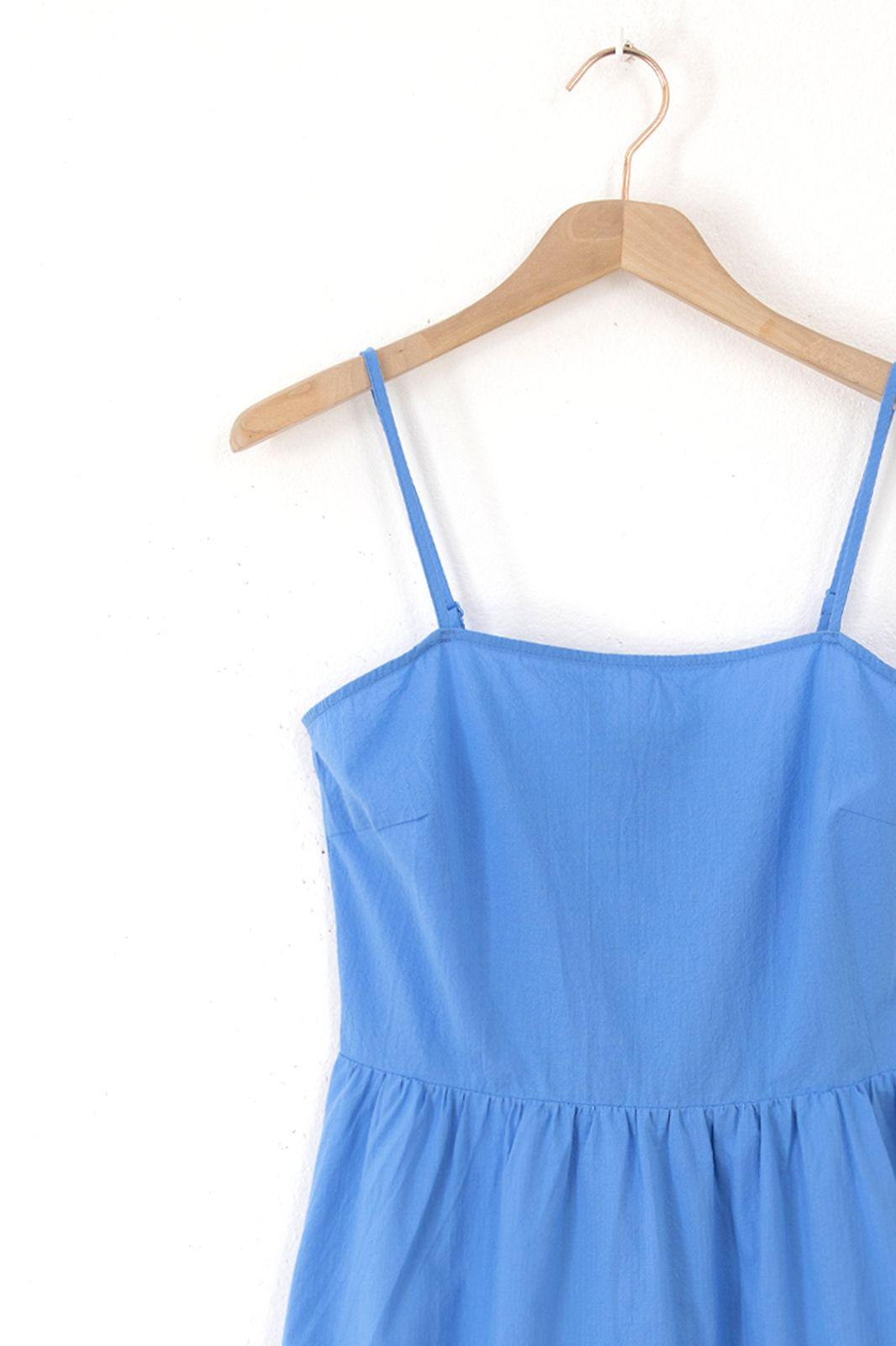Minimum jurk Myria 8069 blauw - Dames | Sissy-Boy