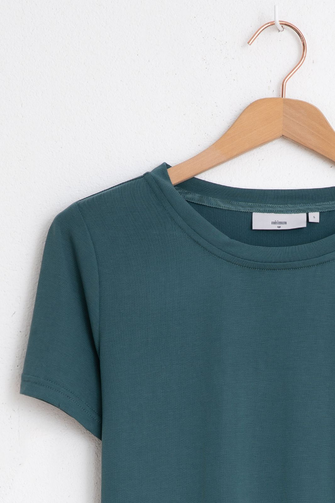 Minimum t-shirt Rynah 0281 groen