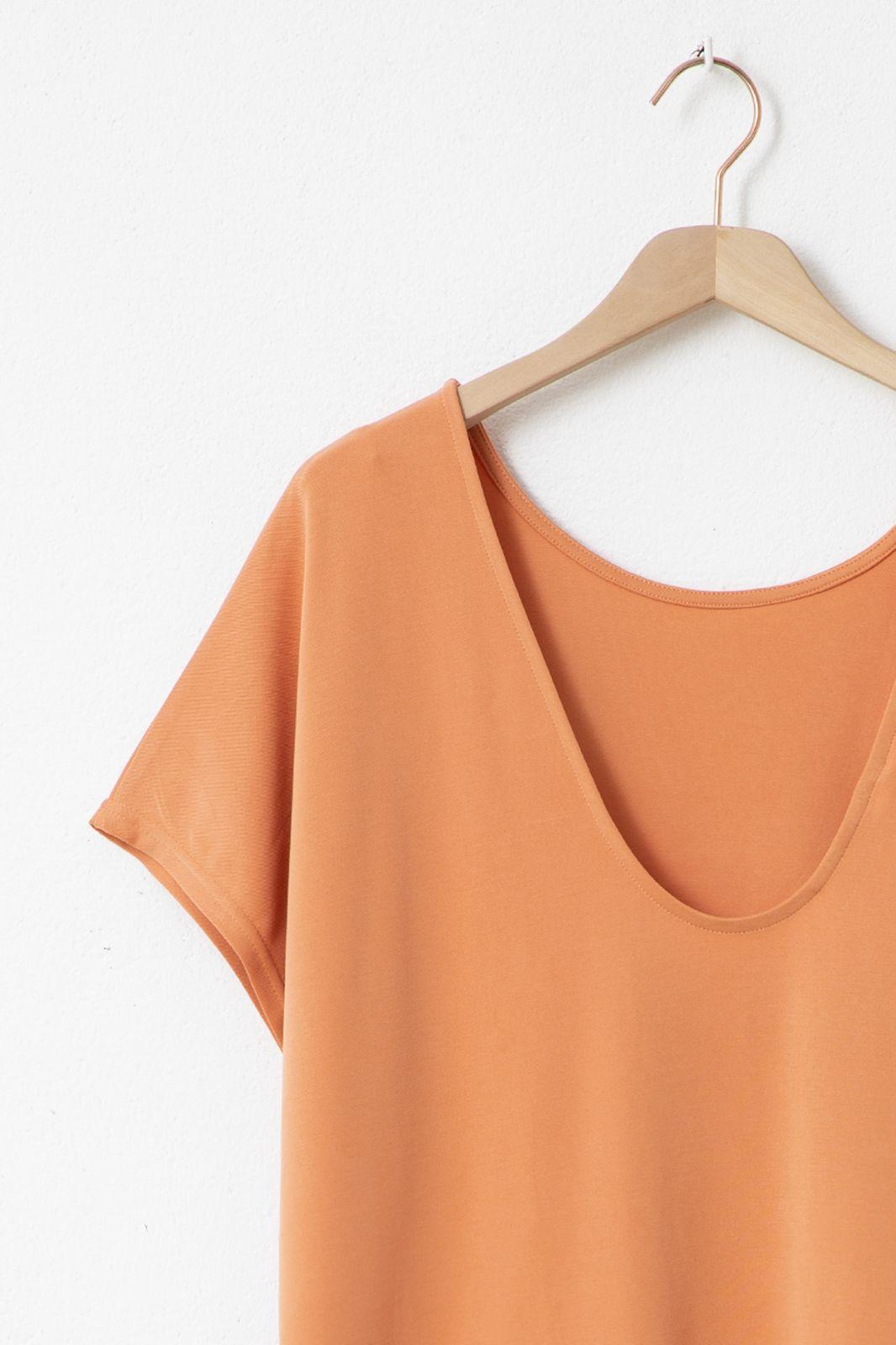 Minimum jurk Fajas 8078 oranje
