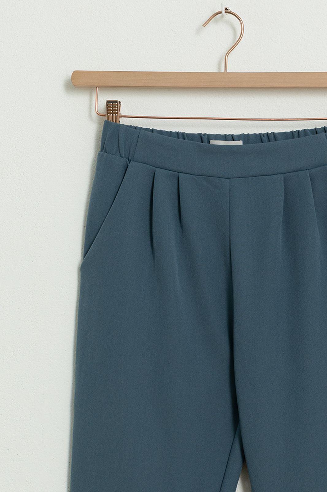 MINIMUM lichtblauwe paperbag broek Sofja E54 - Dames | Sissy-Boy