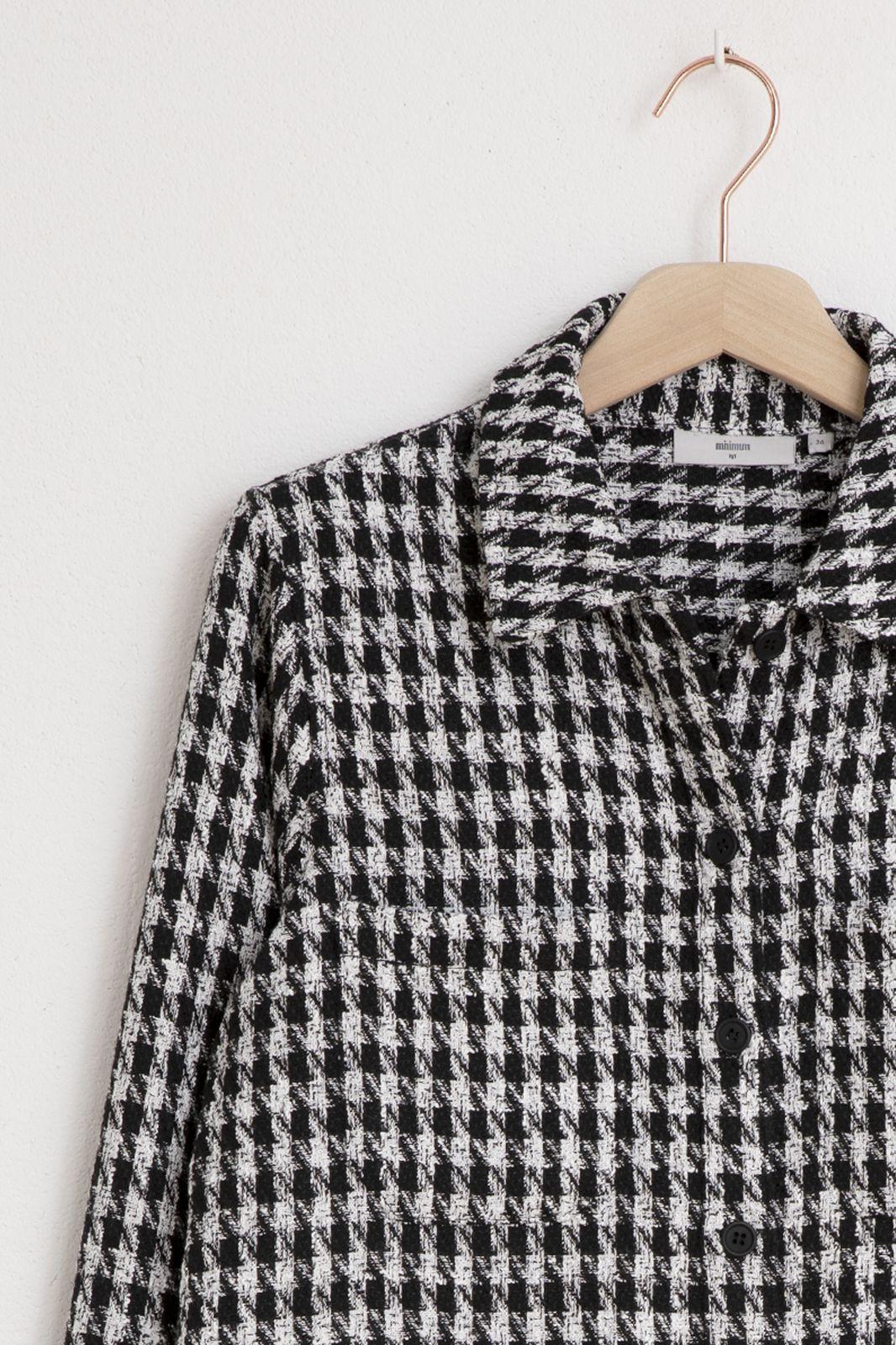 Minimum zwart/witte blouse ruiten - Dames | Sissy-Boy