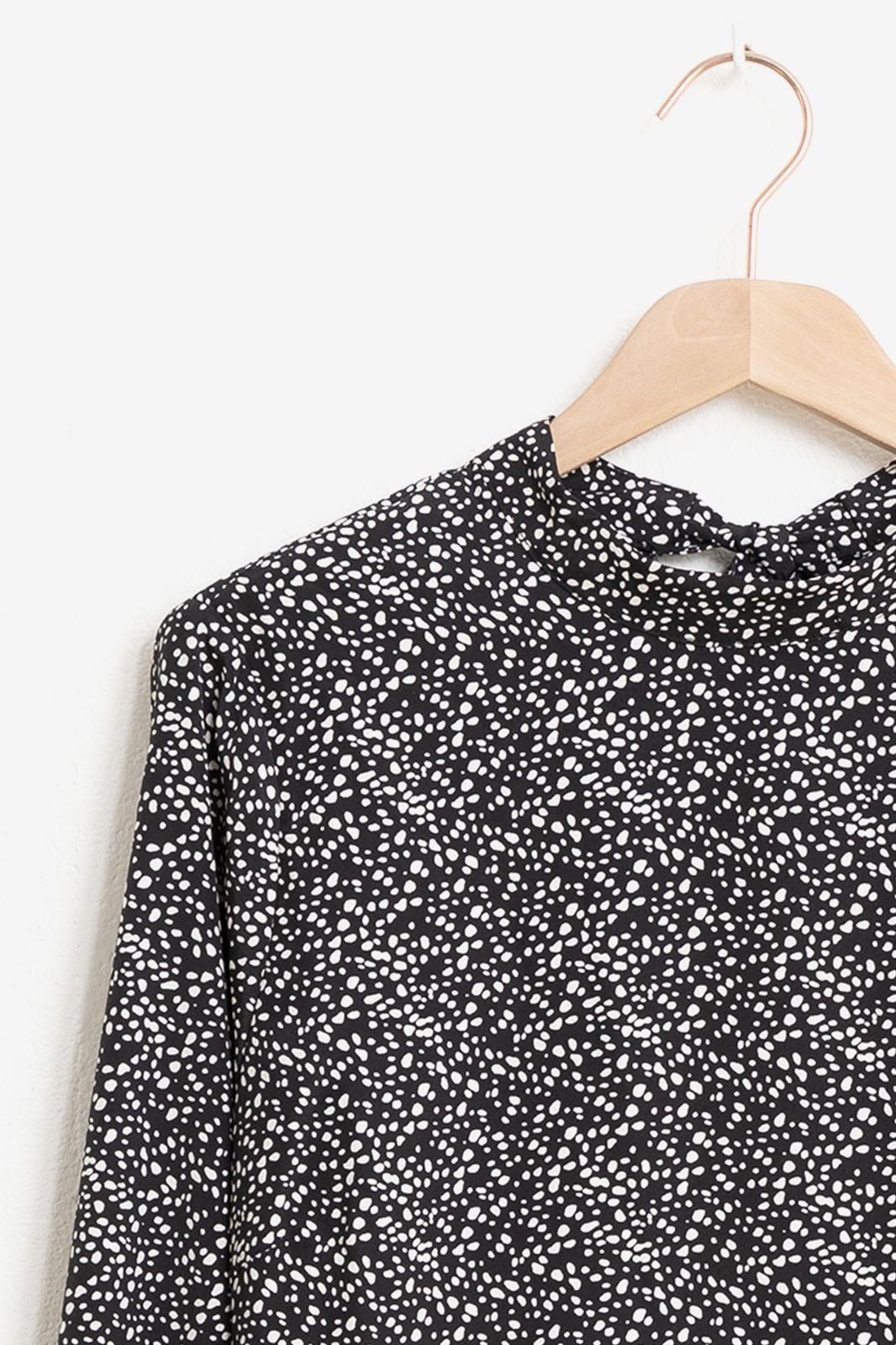 Minimum zwarte blouse Zeta 7257 - Dames | Sissy-Boy